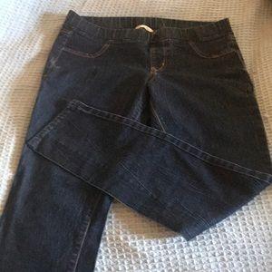Skinny blue Jeans very little wear.